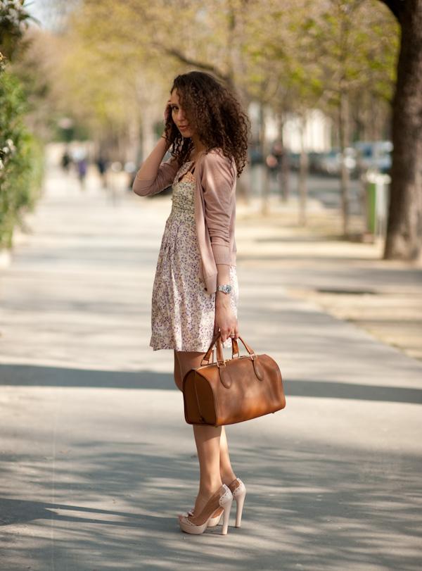 Quelle chaussure avec robe vieux rose