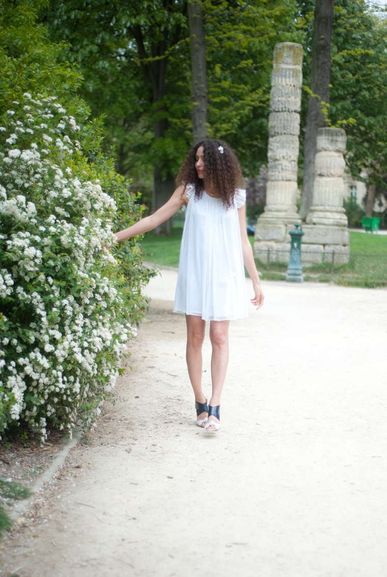 white dress claudie pierlot-2