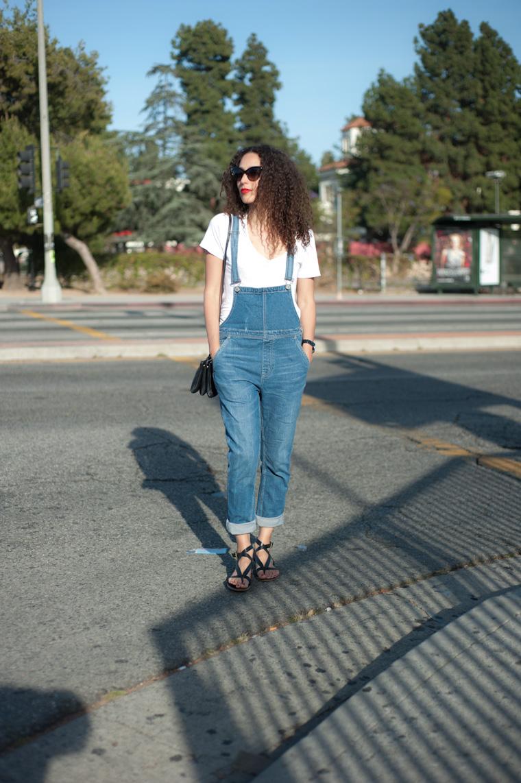 overalls-white-tee