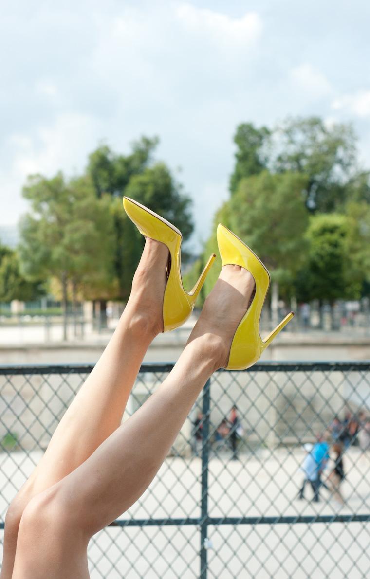escarpins jaunes-5