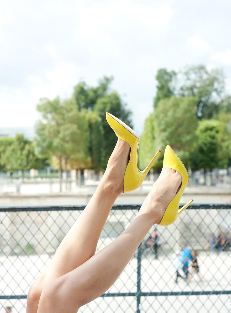 escarpins jaunes-6