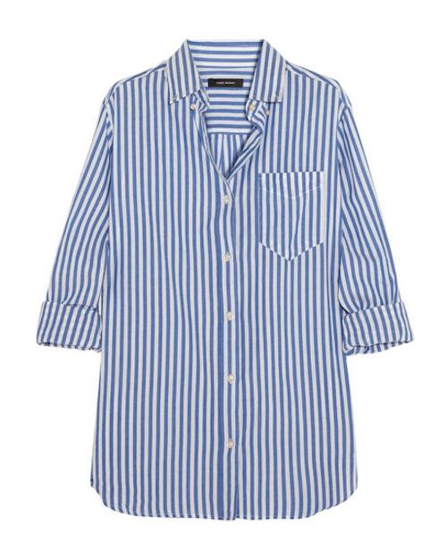 eddie striped coton shirt_