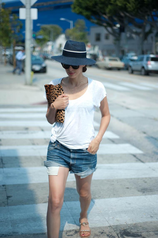 short en jean levis