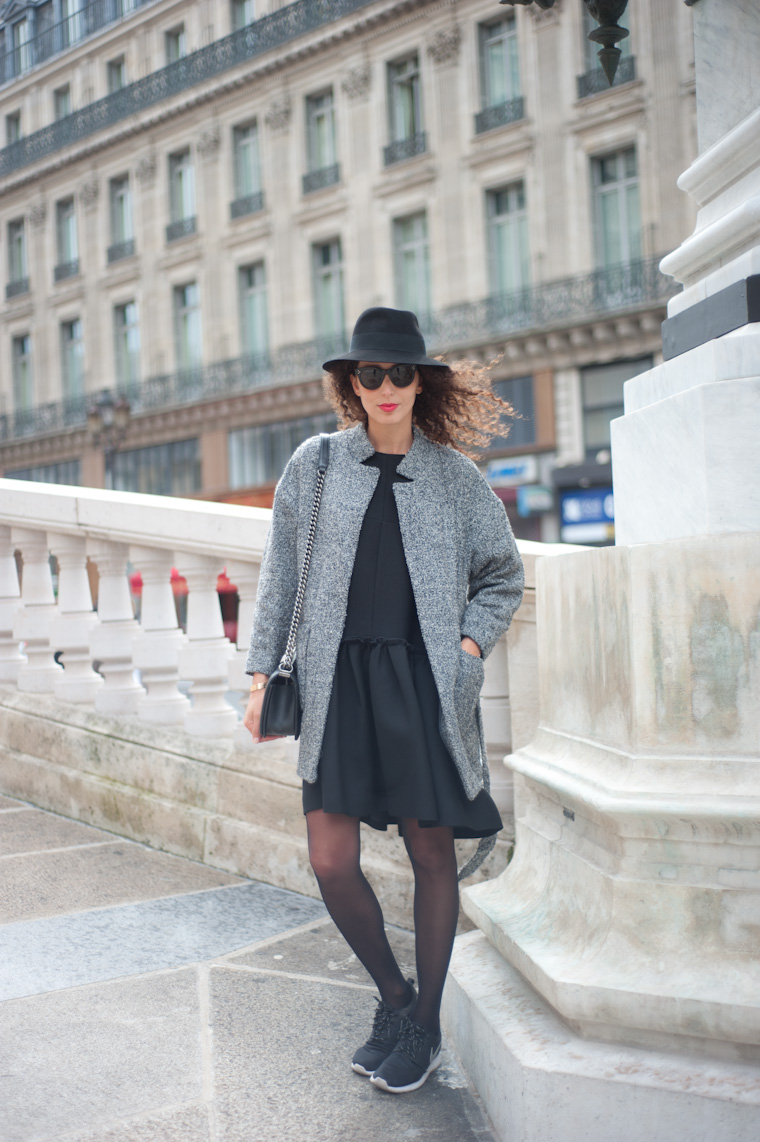 robe-noire-casual-chic