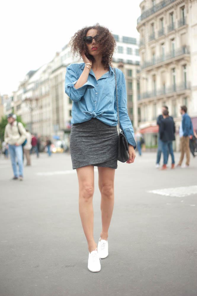 chemise-nouée