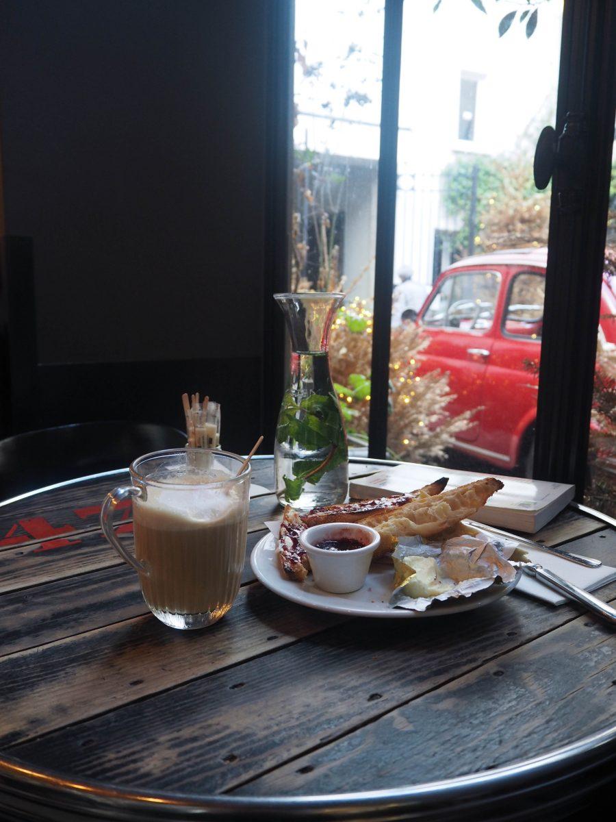 petit dejeuner Merci Paris